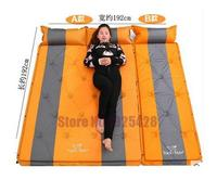 3 Person Automatic Inflatable Mattress Self Inflating Moisture Proof Pad Outdoor Camping Tent BBQ Cushion Fishing Beach Mat