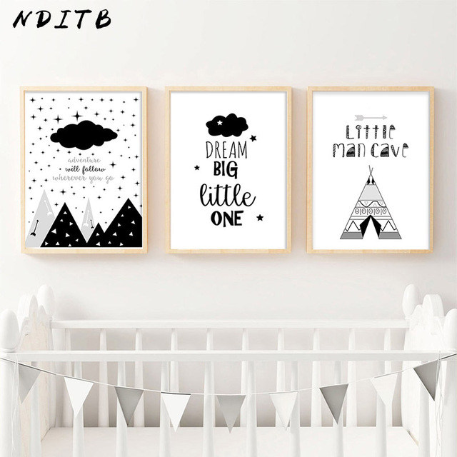 Adventure – Wall Art Canvas for Kids Room