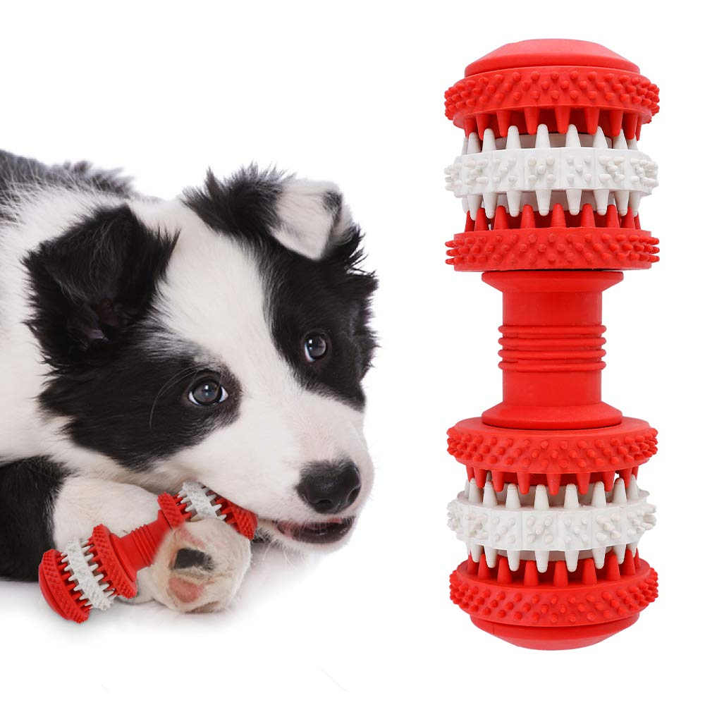 Pet Rubber Gear Molar Rod <font><b>Dog</b></font> Toys Mint <font><b>Dog</b></font> Toothbrush For <font><b>Dog</b></font> Dental Teeth Massage Puppy Teeth Brushing Pet Chew Tooth Cleaner image