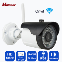 Outdoor waterproof IP Camera WIFI Wireless Megapixel 1080P HD Wireless Security CCTV Cam Infrared SD Card Slot P2P Bullet Kamera