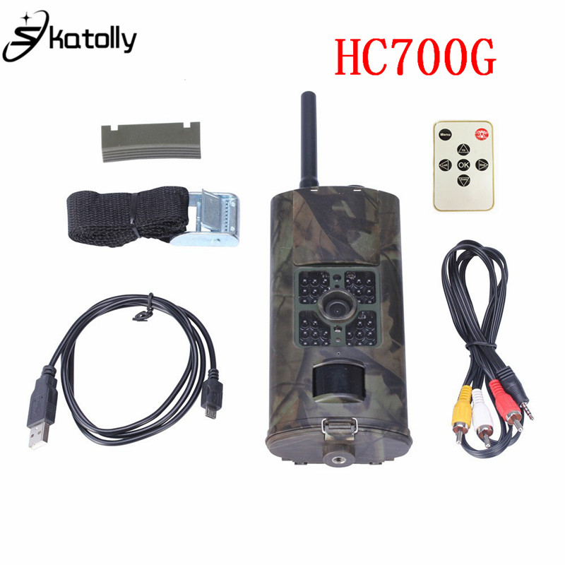 Skatolly HC700G 16MP 1080P Hunting Camera Night Vision Trail Cameras Trap 3G GPRS MMS SMS HD Infrared Hunting Camera SMS simcom 5360 module 3g modem bulk sms sending and receiving simcom 3g module support imei change