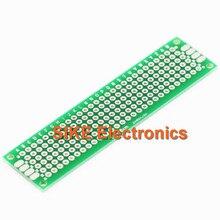 10PCS Double Side Copper Prototype Pcb 2*8 Panel Universal Board for Arduino 2*8cm