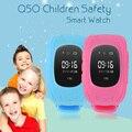 2016 Inteligente Seguro Chamada SOS Localizador Localizador Rastreador GPS Relógio de Pulso para Presente Monitor de Criança Anti Perdido Smartwatch Q50