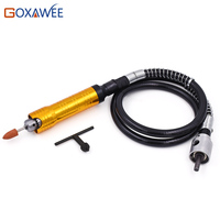 GOXAWEE Rotary Grinder Tool Flexible Flex Shaft Handpiece 0 6mm For Dremel Foredom Rotary Tool Accessories Flex Shaft Tools