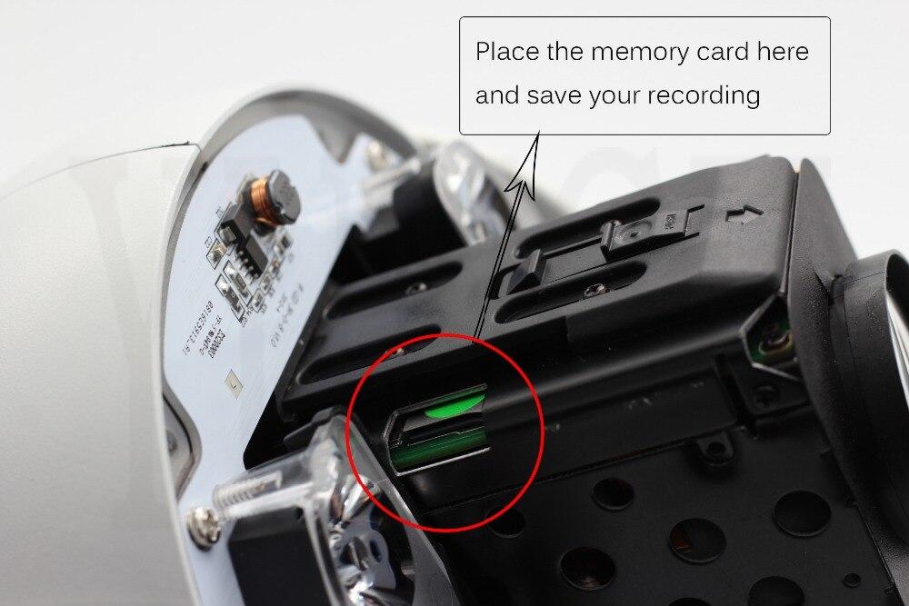 POE CCTV Kamera IP 20/30X Zoom Kamera Yüksek Hızlı Dome Ağ 1080 P - Güvenlik ve Koruma - Fotoğraf 3