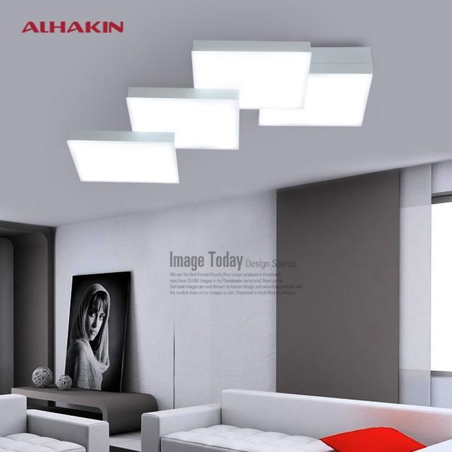 Magie Cube Moderne LED 52 W Plafond Éclairage Dia18cm Cuisine Salon Blanc  Lumière De Plafond Éclairage