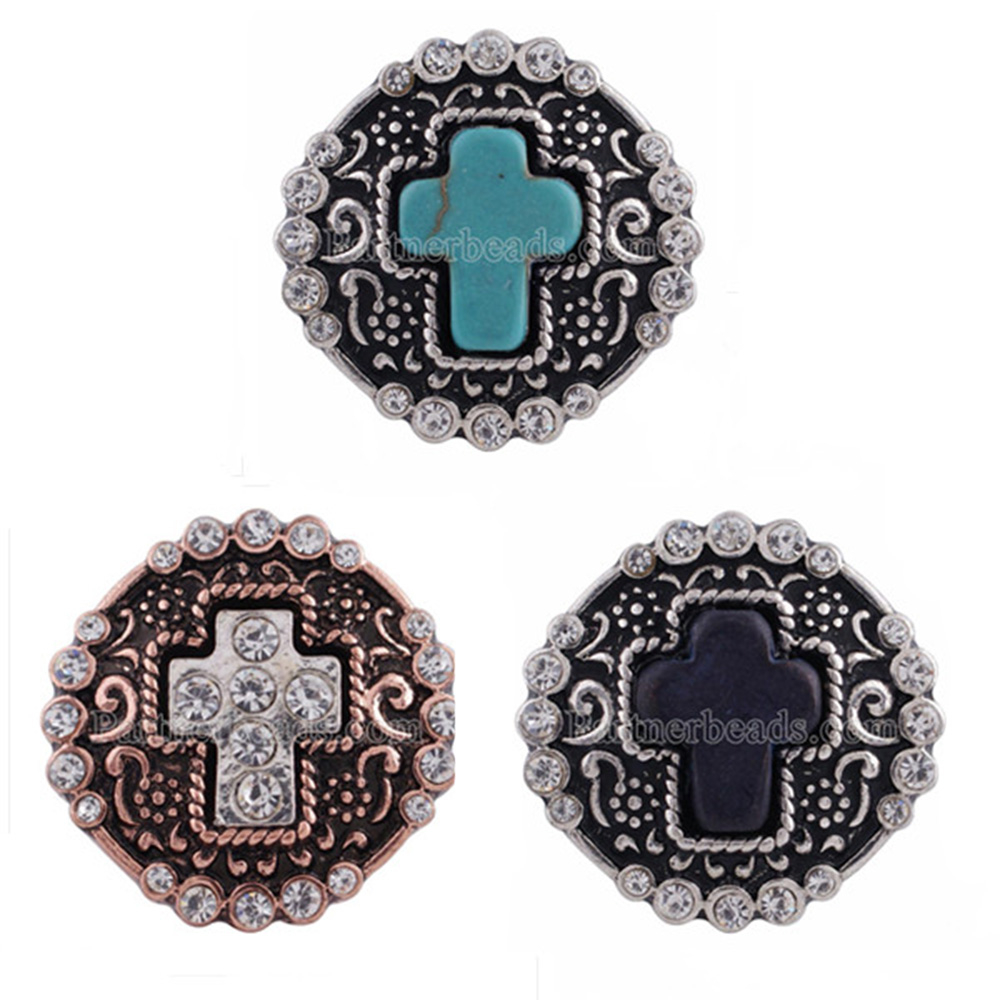 10pcs/lot 20mm glass print snap button jewelry luxurious alloy bottom fit snaps bracelets jewelry KC2147