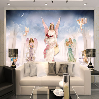 Modern 3D Custom Photo Murals Wallpaper European Modern Angel Personalized Home Decor For Kids Room Living Room TV Background mastering modern european history palgrave master