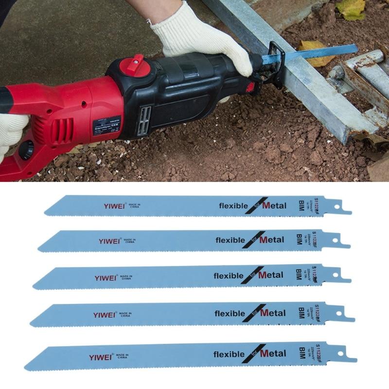 BENGU 5 Pcs S1122BF/S922BF /T244D /T101AO Reciprocating Sabre Saw Blades 227mm 9 For Metal & Wood Cutting dysprosium metal 99 9% 5 grams 0 176 oz
