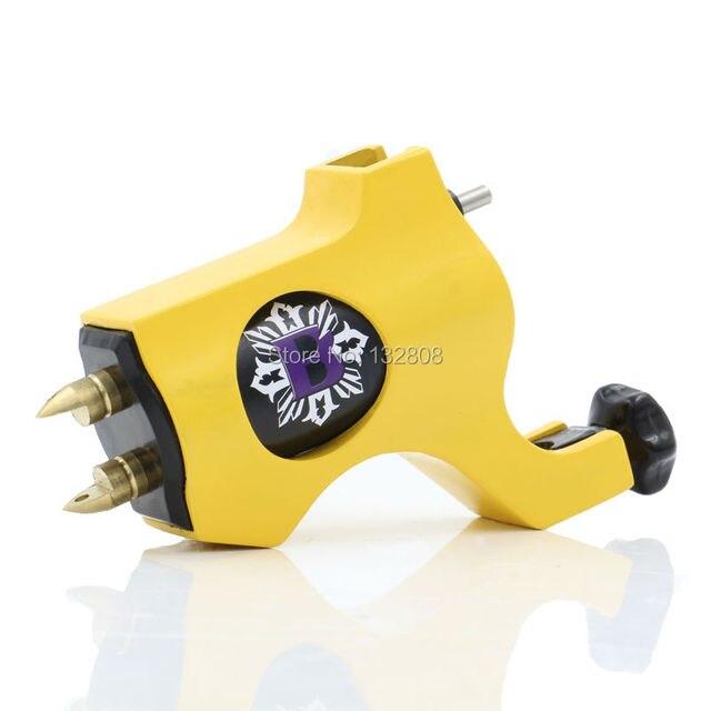 Новые Желтые Епископ Стиль Прецизионные Поворотные Татуировки Machine Gun 6 Цветов Для Выбрать Бесплатную Доставку