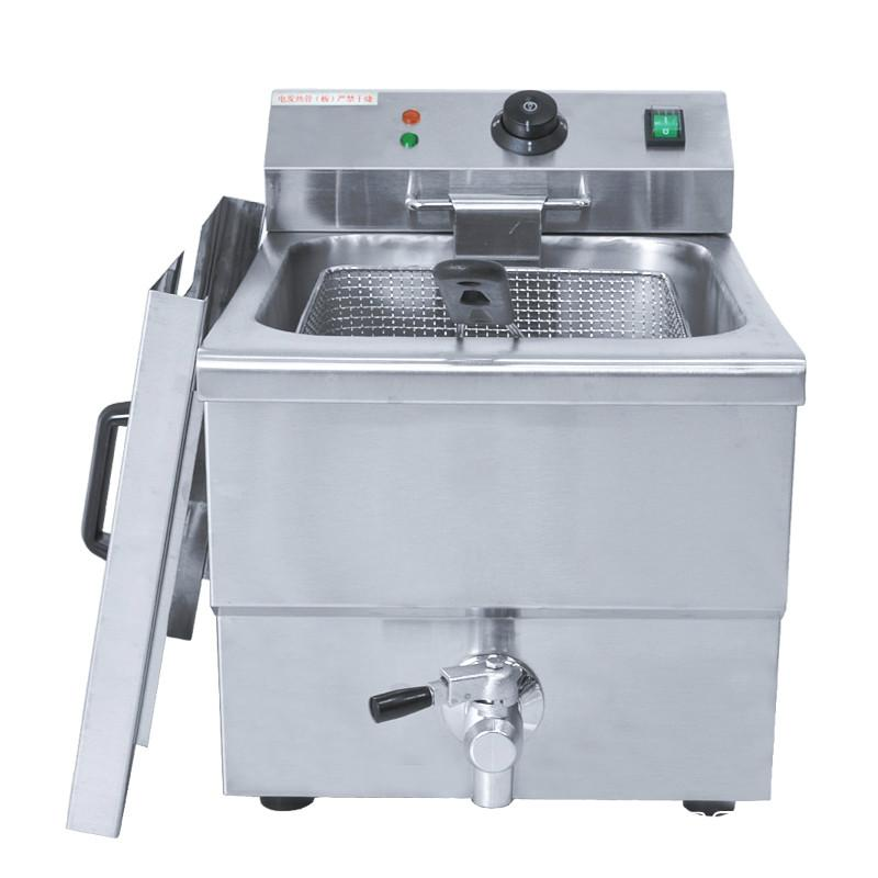 8L LPG Gas Deep Fryer Home Commercial LPG Gas FRENCH Fries ...