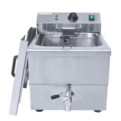 8L Lpg Gas Deep Fryer Home Commercial Lpg Gas French Fries Frying Machine Fryer