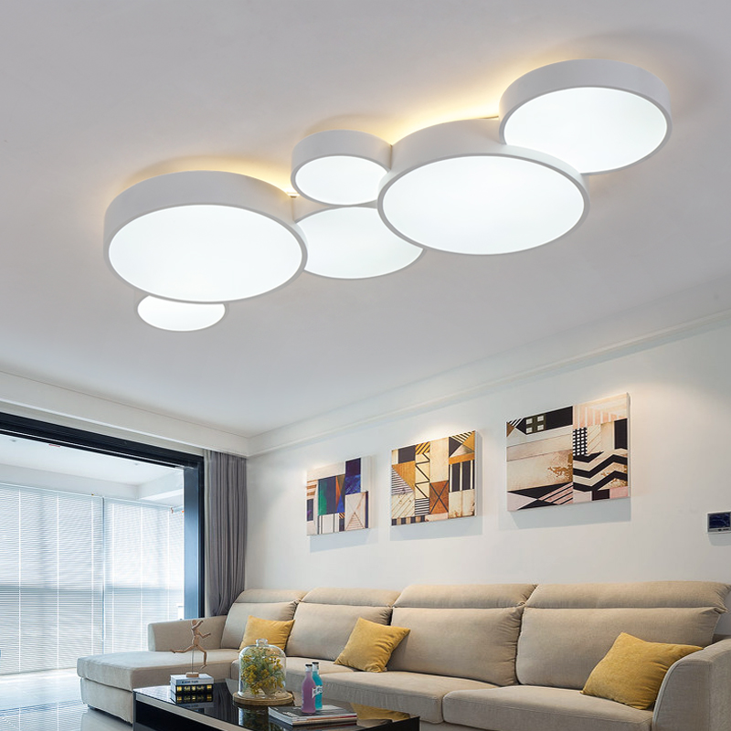 2018 Led Ceiling Lights For Home Dimming Living Room Bedroom Light Fixtures Modern Lamp Luminaire Re
