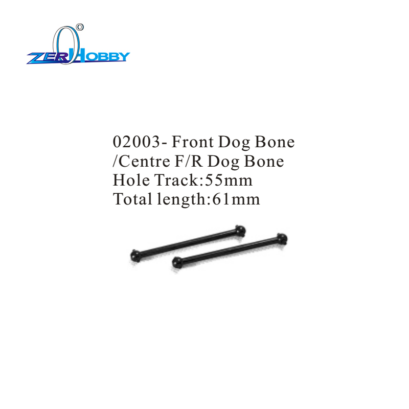PART NO 02003 FRONT DOG BONE CENTER FRONT REAR DOG BONE FOR HSP 1 10 SCALE RACING RC CARS in Parts Accessories from Toys Hobbies