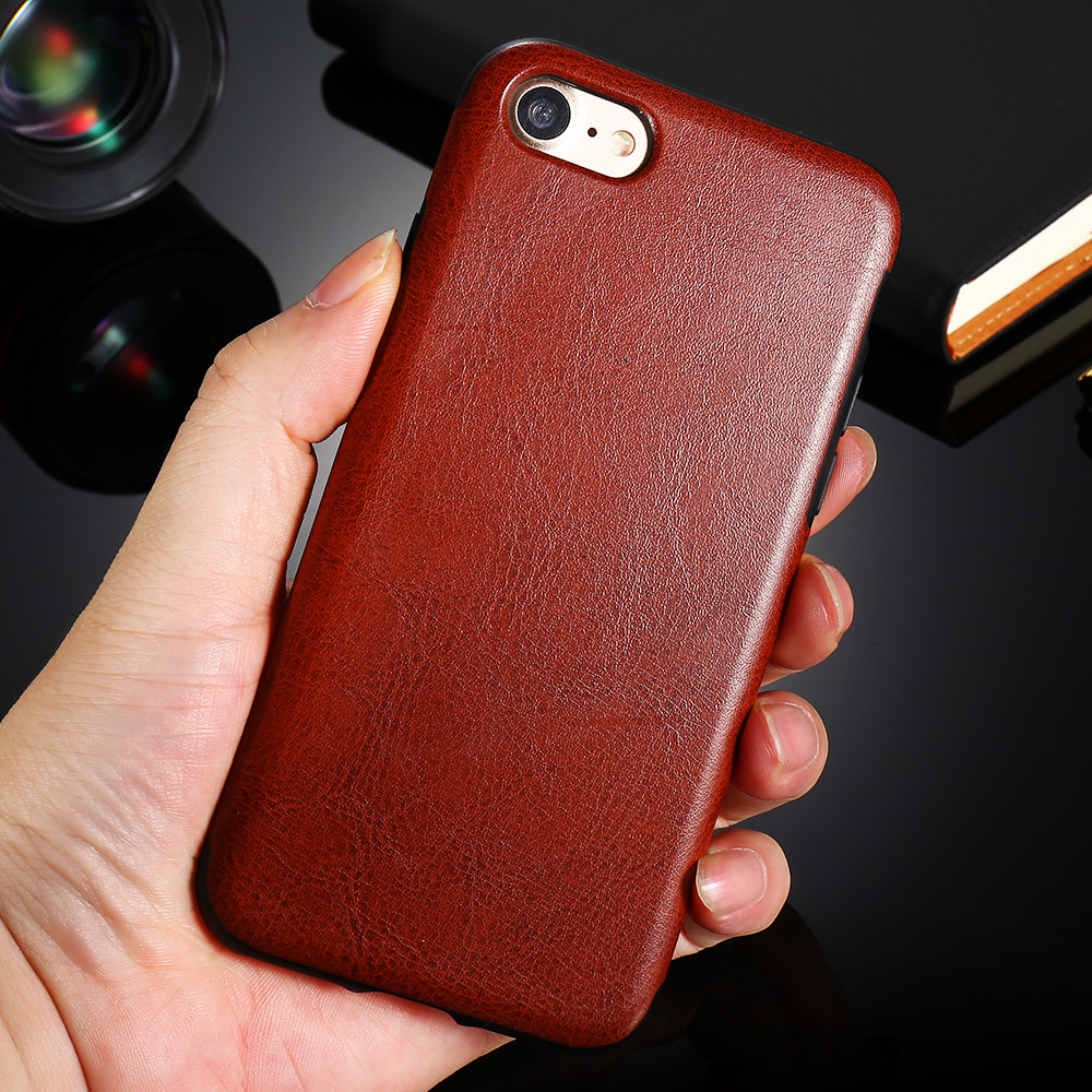 meet 4b706 c54b5 US $4.46 |For iPhone 7 Plus Luxury Red Leather Case Soft TPU PU Cover For  iPhone 7 For iPhone 7 Plus Phone Bag Cases Leather Accessories on ...