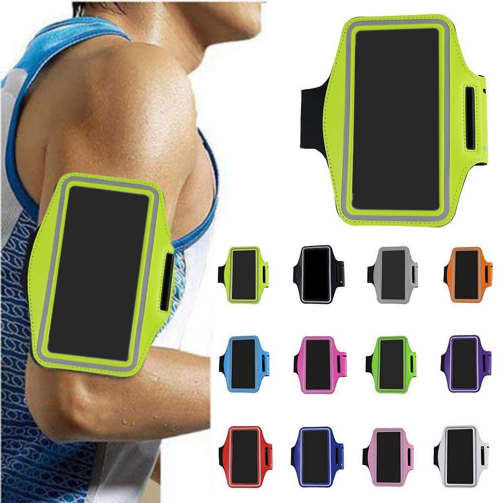 Armbands Universal Waterproof 5.5inch Sport Armband Belt Running Gym Bag Armband Pouch Case For Iphone 7plus 8plus Xplus With Key Holder