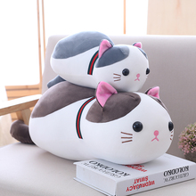 Very Good Hot 2019 New lovely plush toys cute soft cat animal doll Christmas birthday gift for children friend Cat