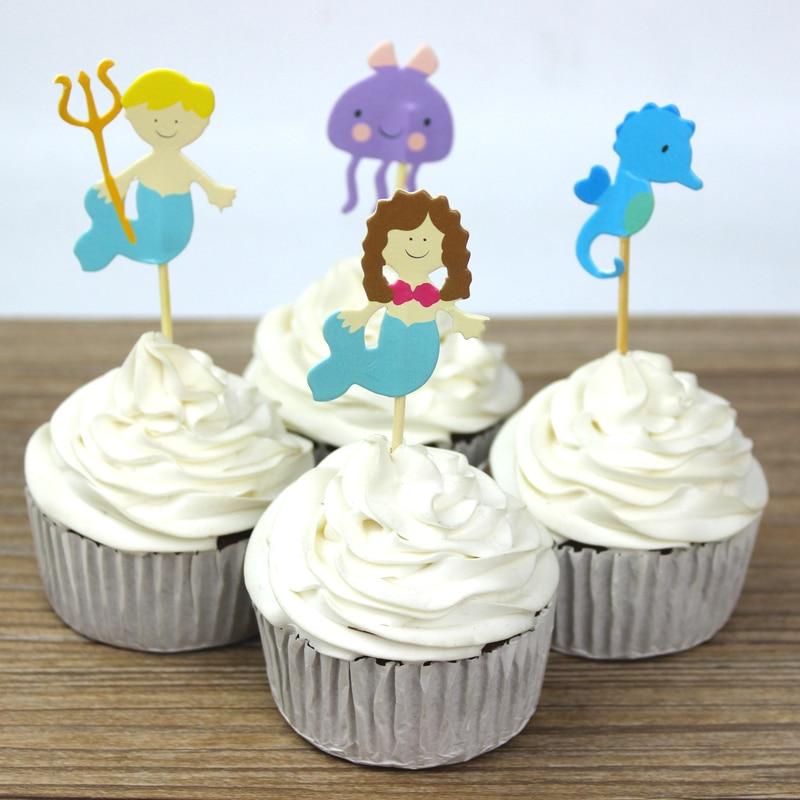 Gateau d'anniversaire cupcake