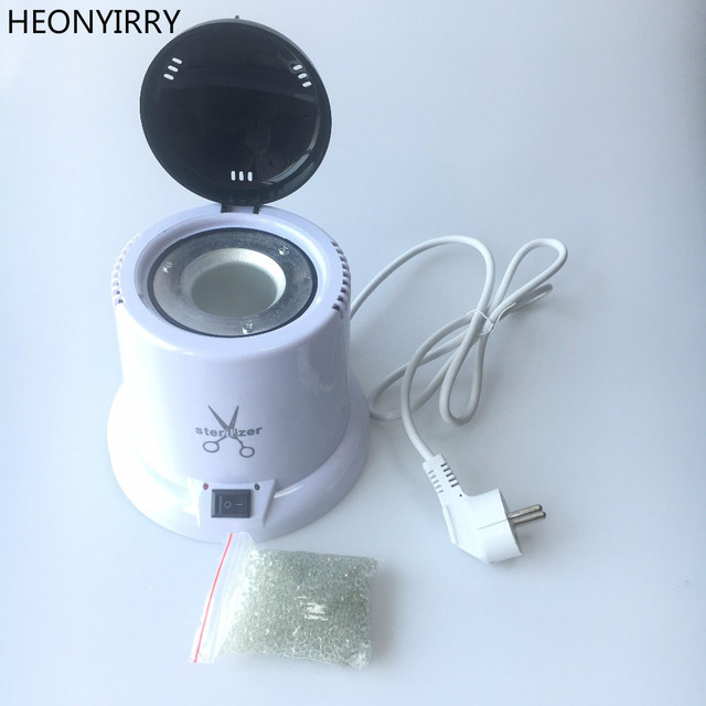 220v High Temperature Nail Tools Sterilizer Box Ball Disinfection Gl Disinfecting Manicure