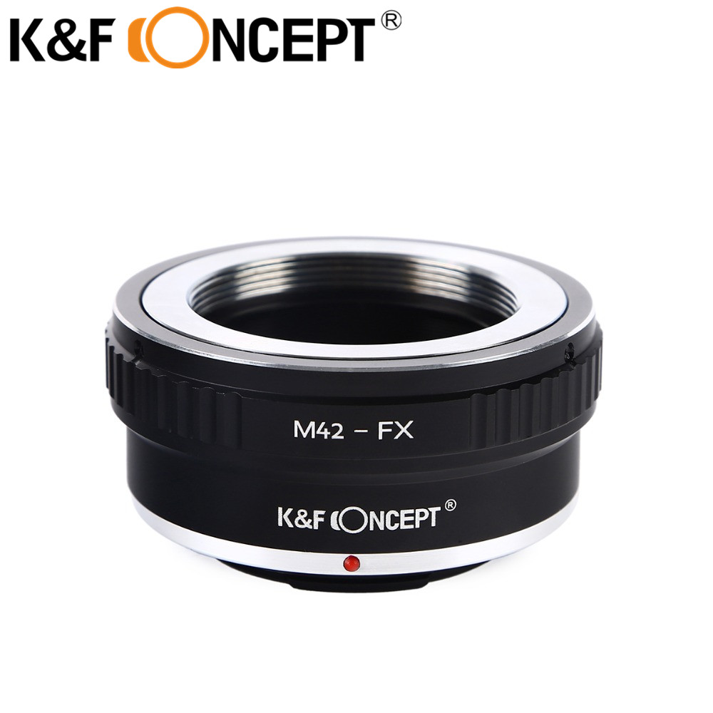 K & F KONZEPT M42-FX Kameraobjektiv-Adapterring Für M42-Objektiv an - Kamera und Foto