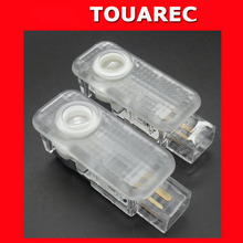 car door light VW touareg 3d ghost shadow lamp led welcome door step logo light no drilling plug and play