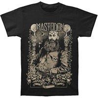 LEQEMAO New MASTODON Crack The Skye Metal Rock Band Men S Black T Shirt Size S