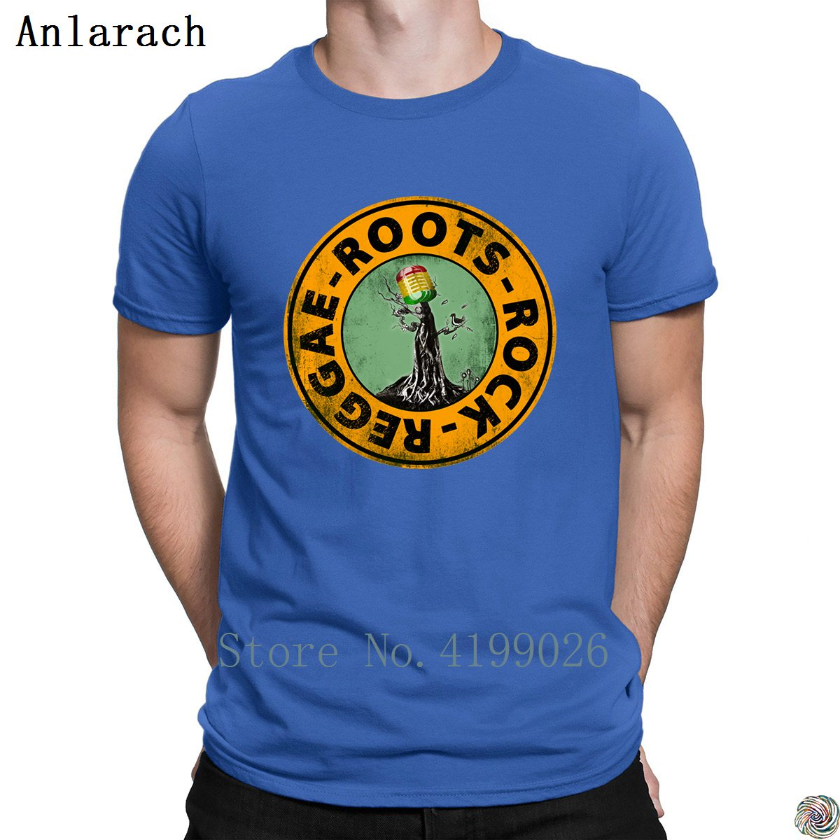 Image 4 - Roots Rock Reggae. t shirts Euro Size Pop Top Tee Basic Solid men's tshirt Designing High quality summer Anlarach New Style-in T-Shirts from Men's Clothing