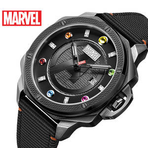 Watches Luxury Quartz Sport MARVEL 5bar Mens Iron Thanos Luminous-Hands Water-Resistant