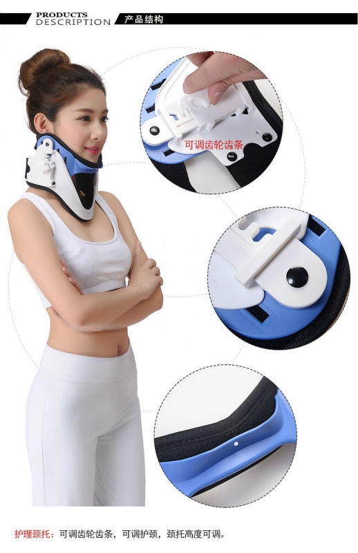 Adjustable cervical clamp holder massager neck neck massage pillow body massage neck collar family guard