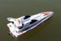 Blue Streak RC Racing Boat R C High Speed Boat Toys Maximum Speed 40 50km H