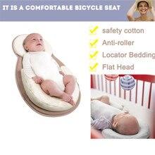 PUDCOCO Infant Newborn Baby Sharping Pillow Cushion Prevent Flat Head Sleep Nest Mattress Soft