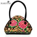 Boho Ethnic Embroidery Bag Vintage Handbag Tote Bolsas Feminina Hand Embroidered Bags Handmade Floral Handbags For Women