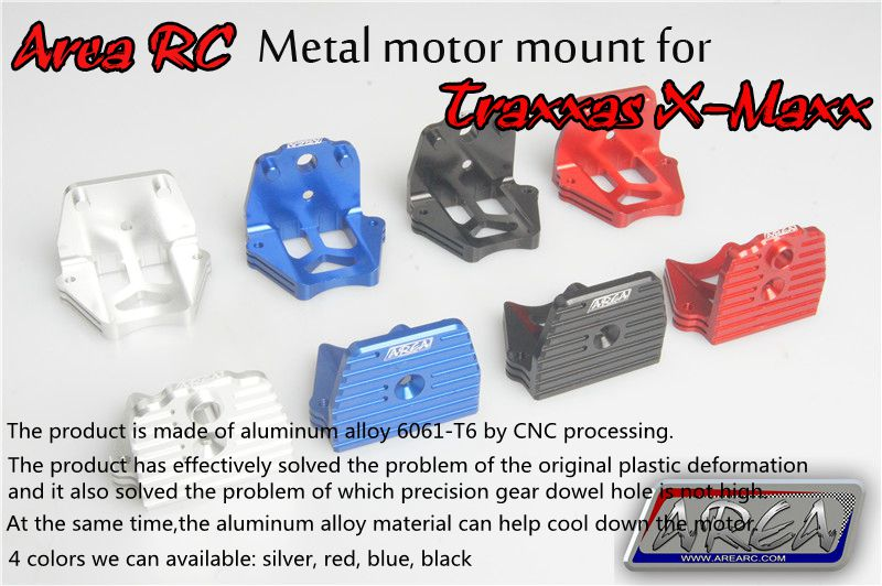 Area RC metal motor mount for Traxxas X-Maxx 1/5 area rc alloy suspension arm for traxxas x maxx 1 5