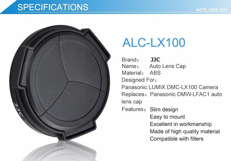 automática para panasonic lumix DMC-LX100 DMC-LX100II leica