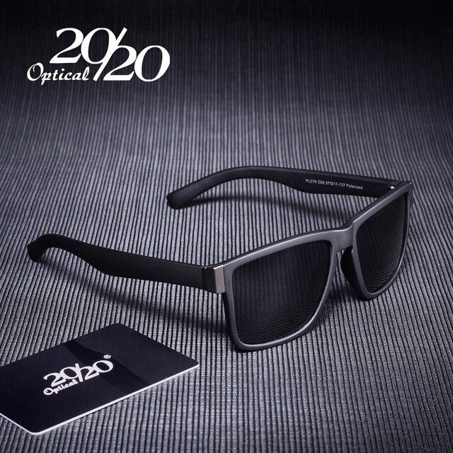 698070a29b4ef Clássico Revestimento Moldura Preta Polarizada Óculos De Sol Dos Homens  Óculos de Condução Pesca Óculos de