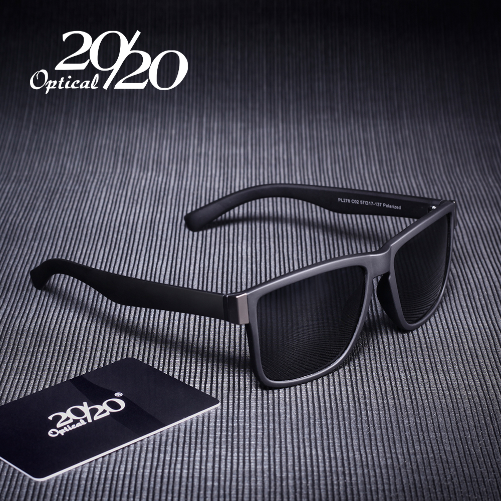 Classic Polarized Sunglasses Men Glasses Driving Coating Black Frame Fishing Driving Eyewear Male Sun Glasses Oculos PL278