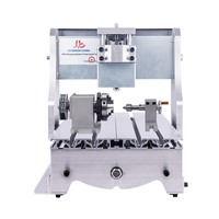 4axis 3020 CNC Router Aluminium frame for Engraving Drilling and Milling Machine wood router lathe with rotary axis