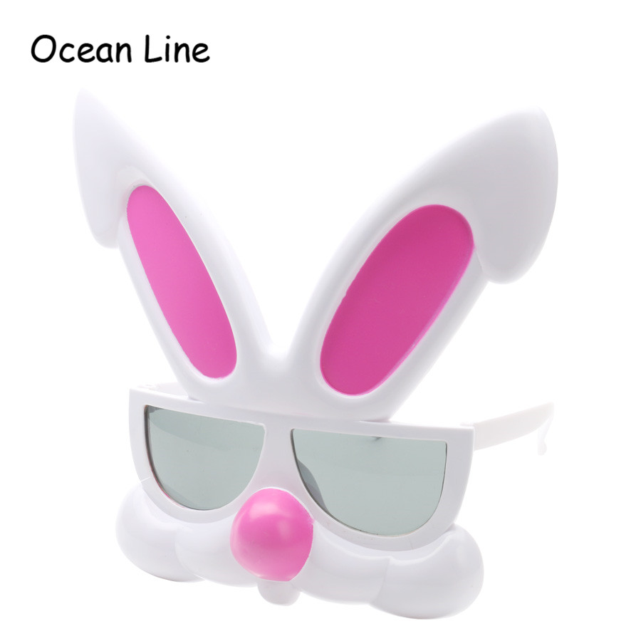 Funny Pink Rabbit Glasses Party Favors Costume Mask Easter Halloween Photo Booth Props Gifts Supplies Decoration - Ocean Line Store store