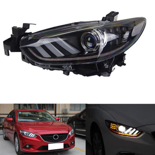 HID Headlights For Mazda 6 2014-17/Atenza 2013-16 With LED DRL And Ballast