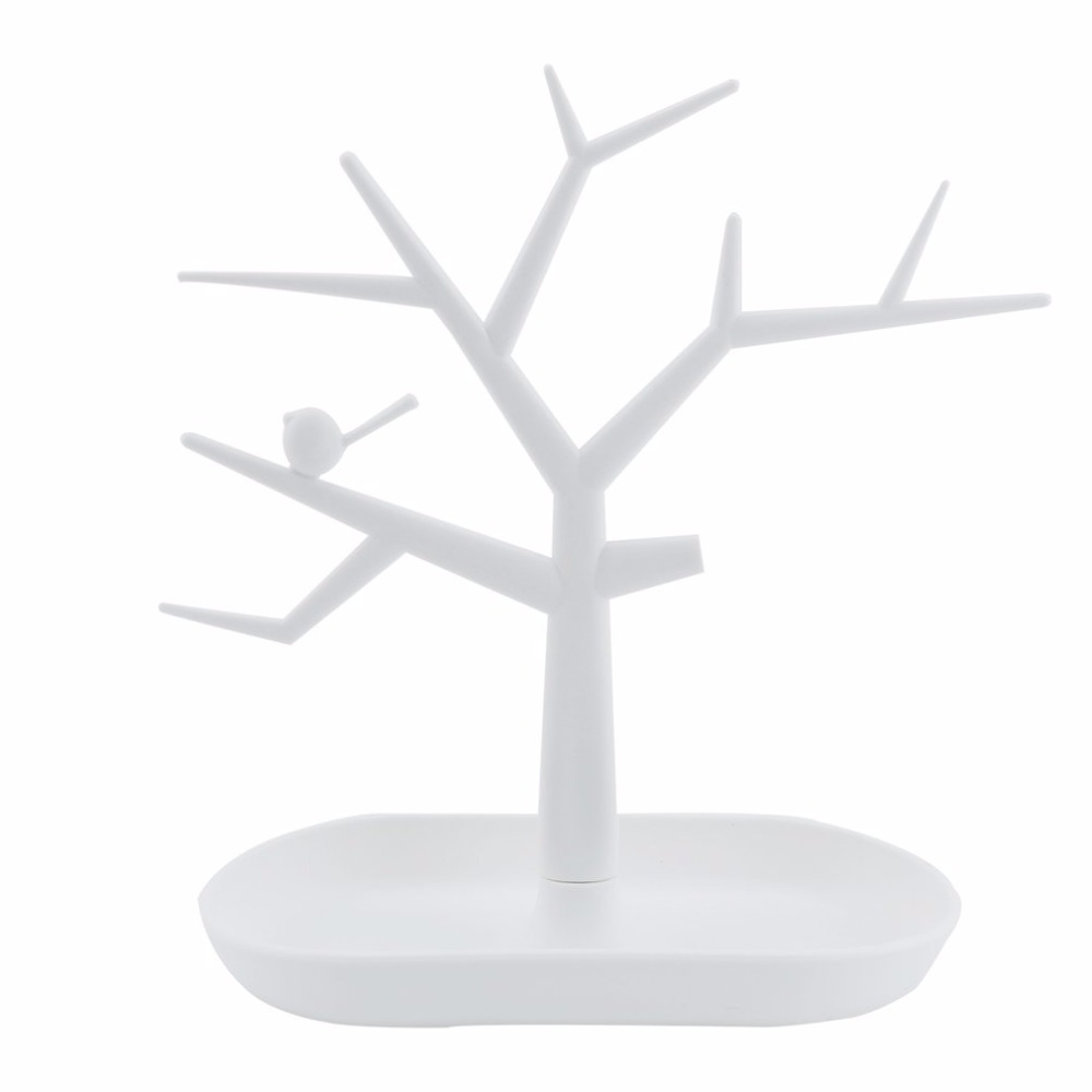 New Jewelry Necklace Ring Earring Tree Stand Display Organizer Stand Holder Show Rack Stand Jewelry Earrings Organizers Showcase