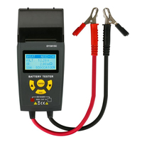TLXC Car Battery Tester With Print 12V 24V Analyzer Lead acid For Auto Work Shop Portable Printer Measurement Special Tools