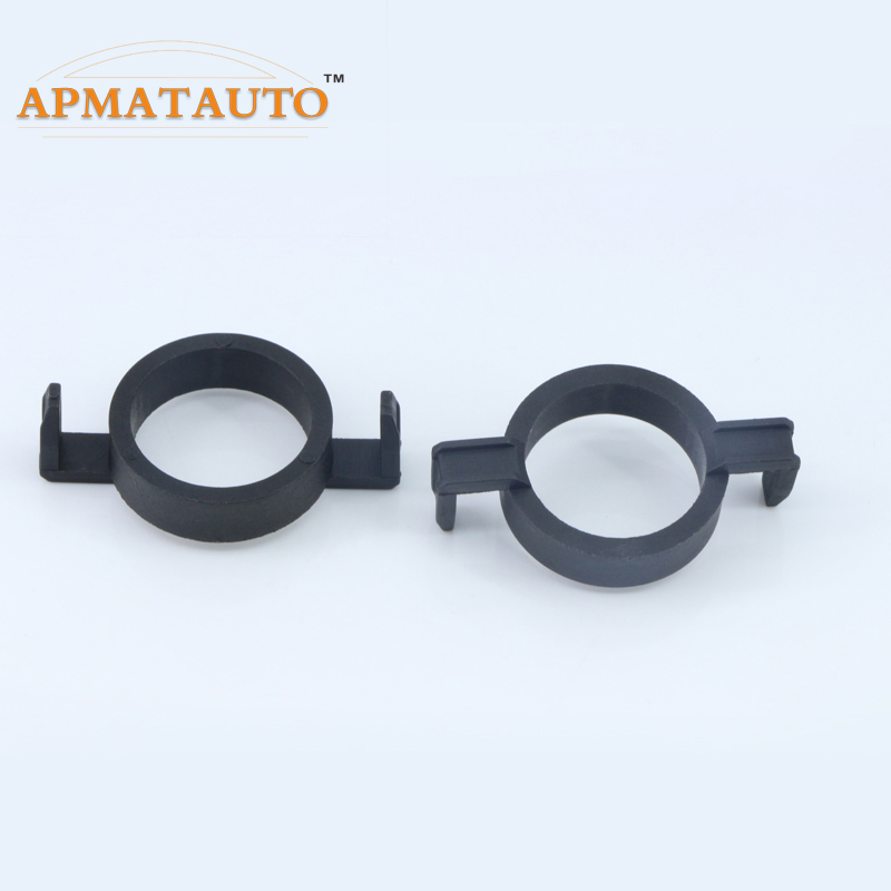 2x <font><b>H7</b></font> <font><b>LED</b></font> Headlight Bulb Holder Socket Adapter Base For Focus New Mondeo <font><b>Peugeot</b></font> 508 <font><b>2008</b></font> 3008 Citroen C5 DS5 DS6 .<font><b>LED</b></font> Holde image