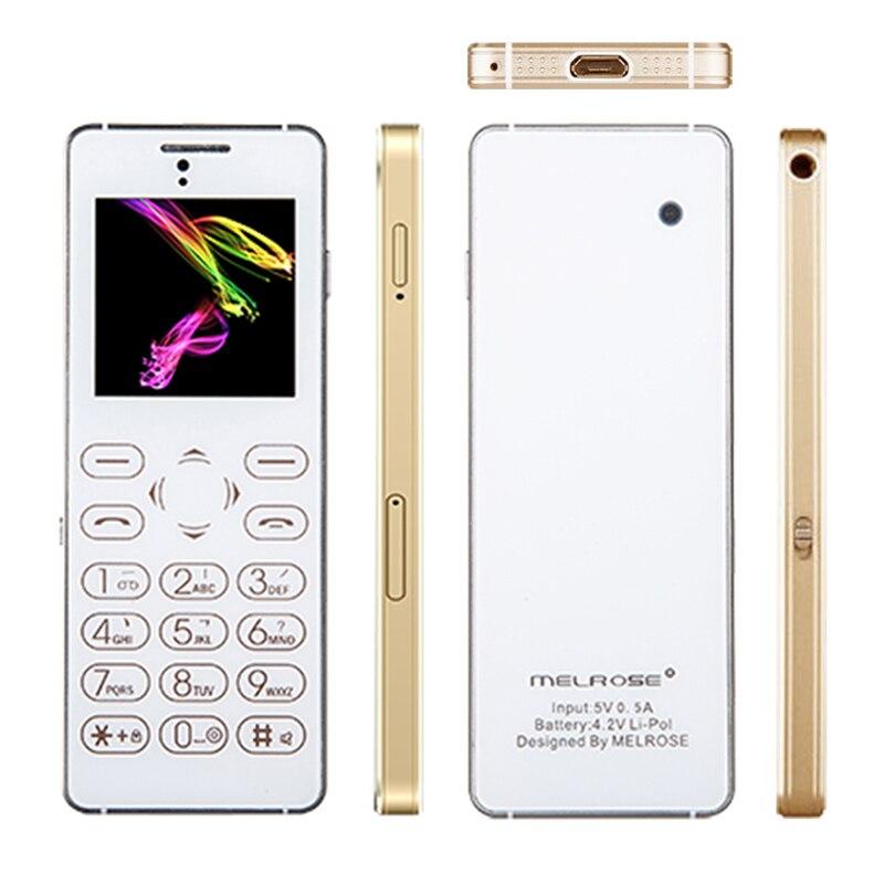 MELROSE T1 Russe Arabe bluetooth 3.0 carte téléphone 3.5mm universel écouteur jack mp3 bouton tactile mini téléphone portable P167