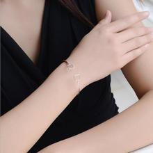 Everoyal Trendy Square Design Bangles For Women Jewelry Top Quality Female Silver 925 Bracelets Girl Birthday Accessories
