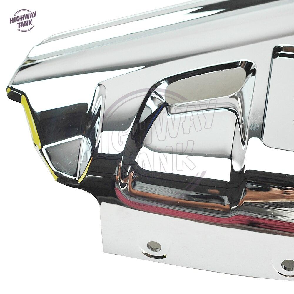 Chrome Motorcycle Front Fender Cover Moto Mudguard Frame Decoration - Պարագաներ եւ պահեստամասերի համար մոտոցիկլետների - Լուսանկար 6