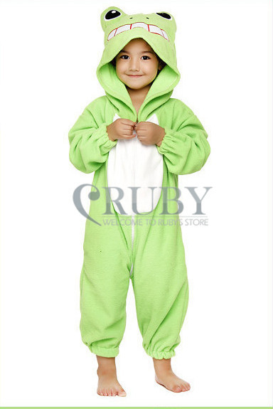 Unisex Children's Costumes Kids Fashion Cosplay Onesies Animal Pajamas Christmas Gift Child Cute Frog Cartoon Pyjamas - RUBY TOP 2 store