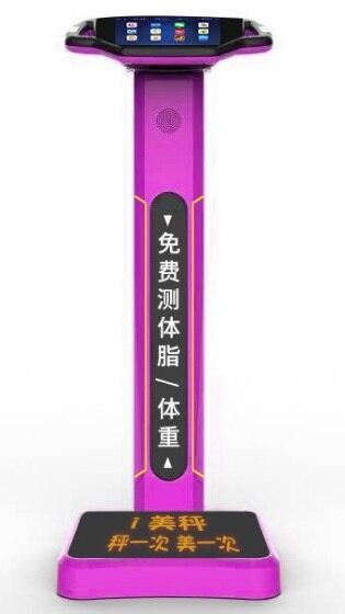 ЖК дисплей led digial вес общий электронный signage напольные весы + Цифровая фоторамка с рекламный монитор