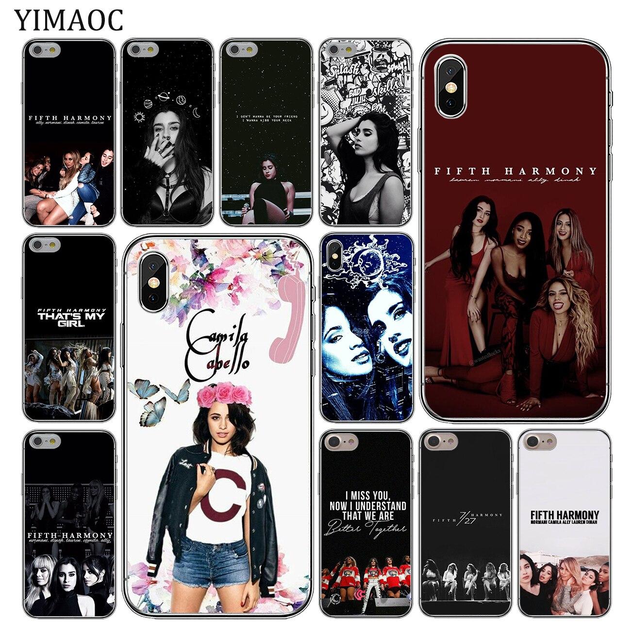 2cae615f55c YIMAOC Camila Cabello Fifth Harmony Soft Silicone Phone Case for Apple  iPhone XS
