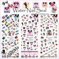 HOT310-312 3 PACKS / LOT MICKY CARTOON MOUSE MINNIE NAIL ART TATTOOS STICKERS WATER DECAL NAIL ART +FREE SHIPPING+(HOIT R35)