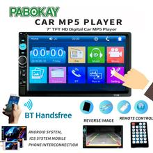 2 din Car Radio 7 HD Autoradio Multimedia Player 2DIN Touch Screen Auto audio Car Stereo MP5 Bluetooth USB TF FM Camera amprime android 2 din 7 hd car radio touch screen autoradio gps navigation multimedia mp5 player support wifi bluetooth usb fm